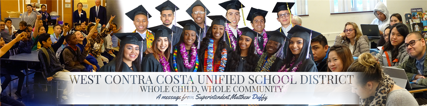 Superintendent's Message Banner