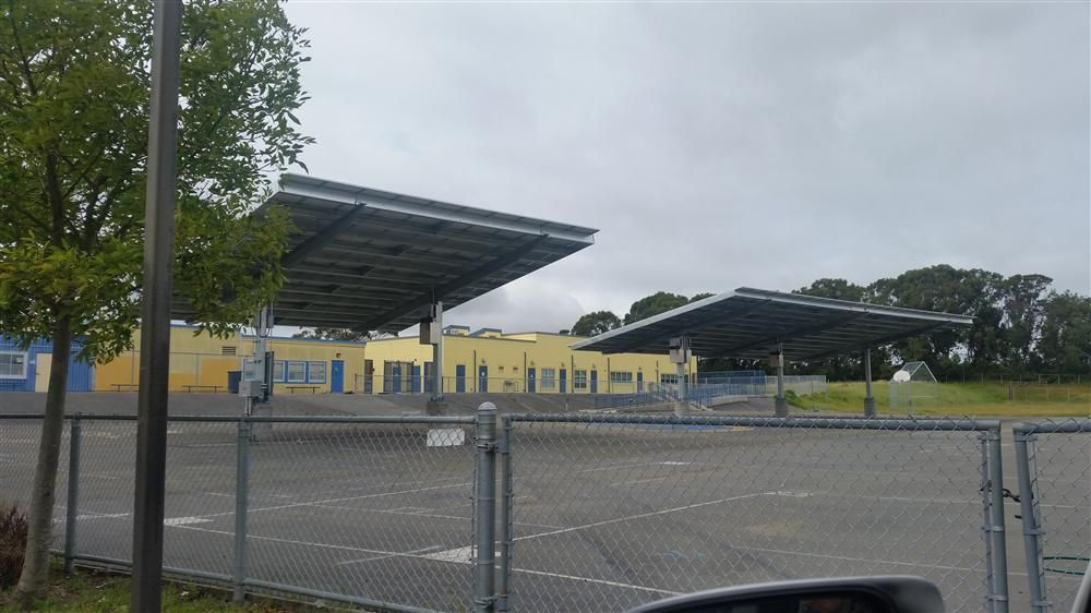Montalvin Elementary School Solar Shade Structure