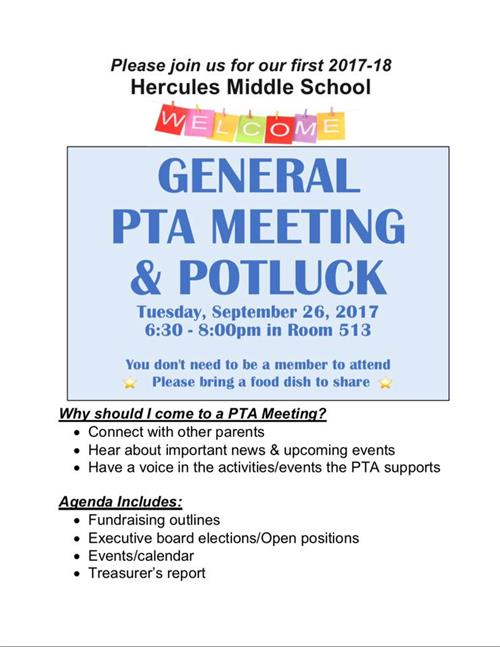 PTA Information / What's the 411 on PTA