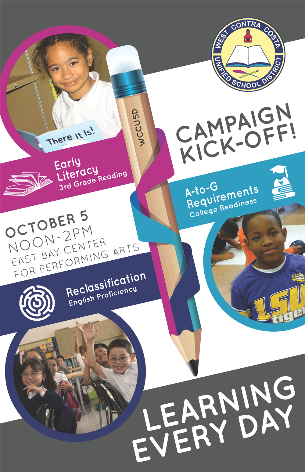 Image of Kick-off Campaign flyer