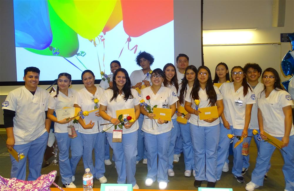 WCCUSD Students Take First Step in Their Healthcare Careers