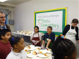 Conscious Kitchen Student Ambassadors From Peres