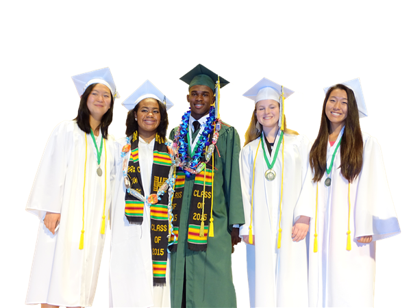 84.7% of students from the Class of 2015 have earned their high school diploma.