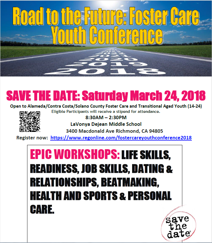 Foster Care Youth Conference March 24