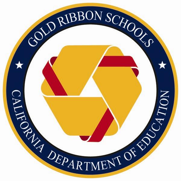 California Gold Ribbon Schools Award logo