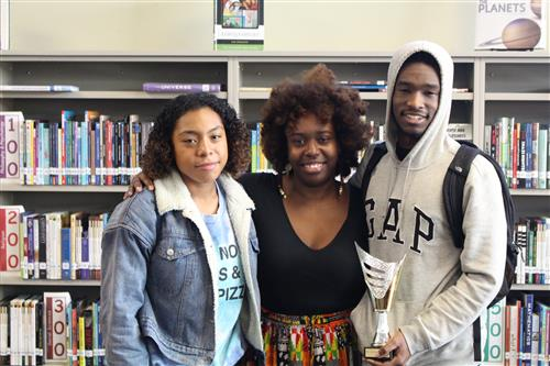 Seniors Tyanna Jinks and RoShawn Youngblood were the top debaters at the BAUDL event on Wednesday, Dec. 12.