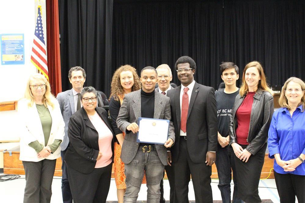 Jayshon Montgomery and the Board of Education
