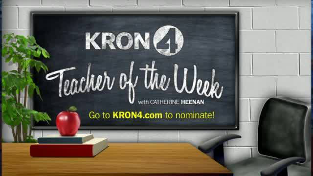 KRON 4 News Teacher of the Week Logo
