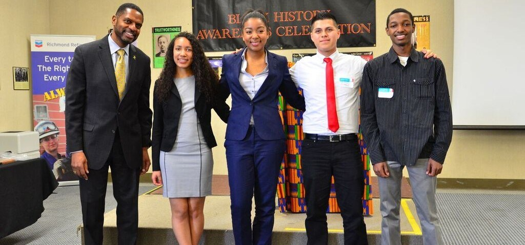 Chevron Black Employee Netwrok Scholarship Winners