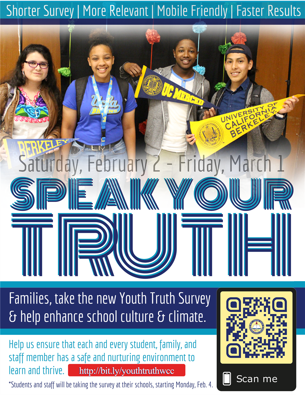 Youth Truth Survey Flyer