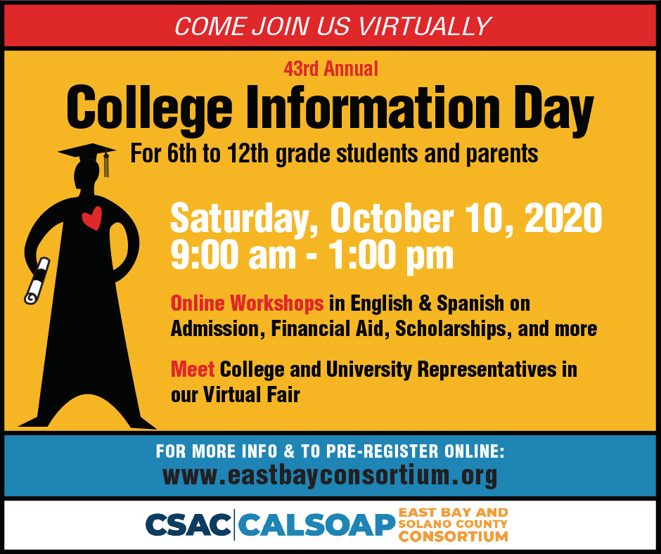 Annual College Day Goes Virtual on Oct.10