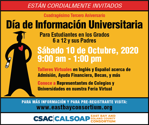 college day flyer spanish