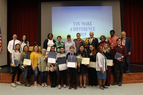 You Make A Difference Award Recipients