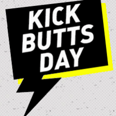 Kick Butts Day logo