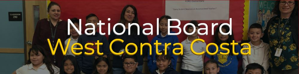 National Board in West Contra Costa