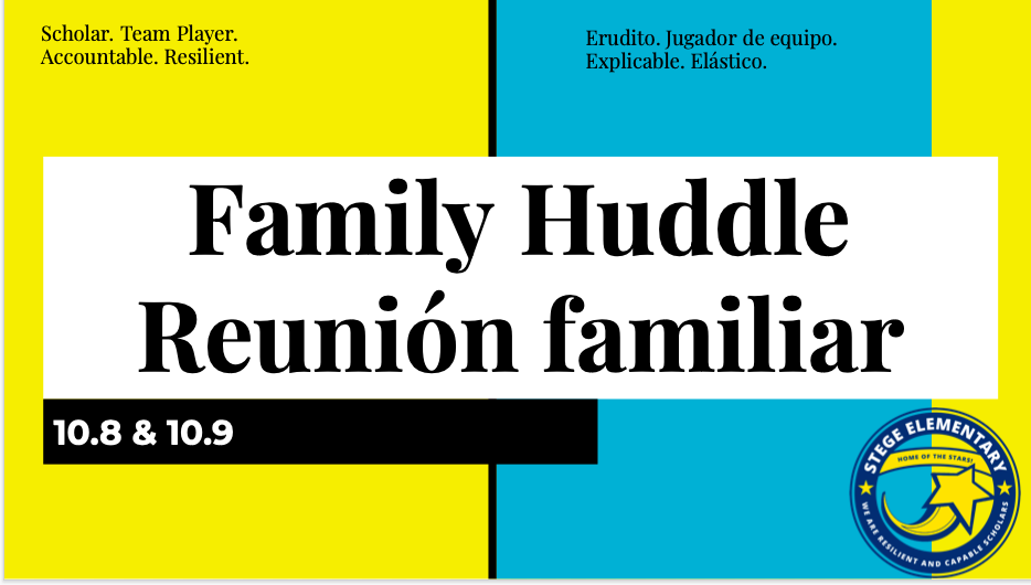 Family Huddle October