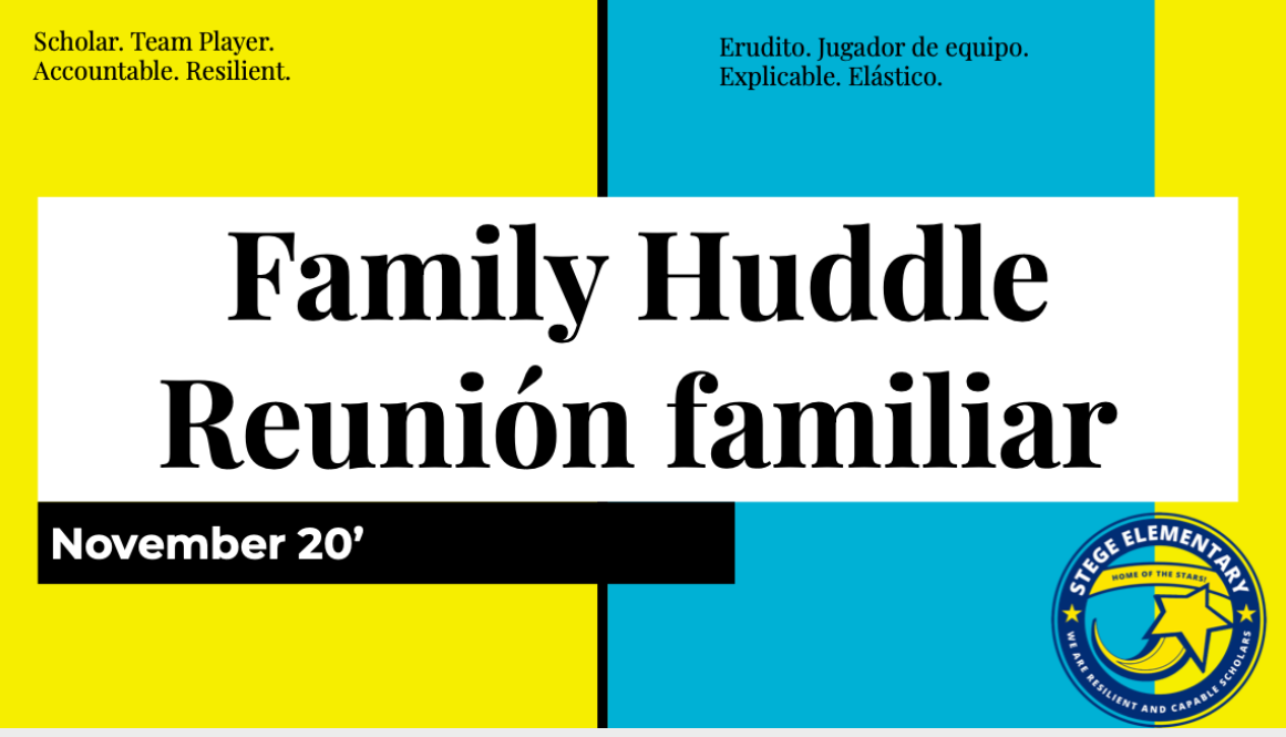 Family Huddle November