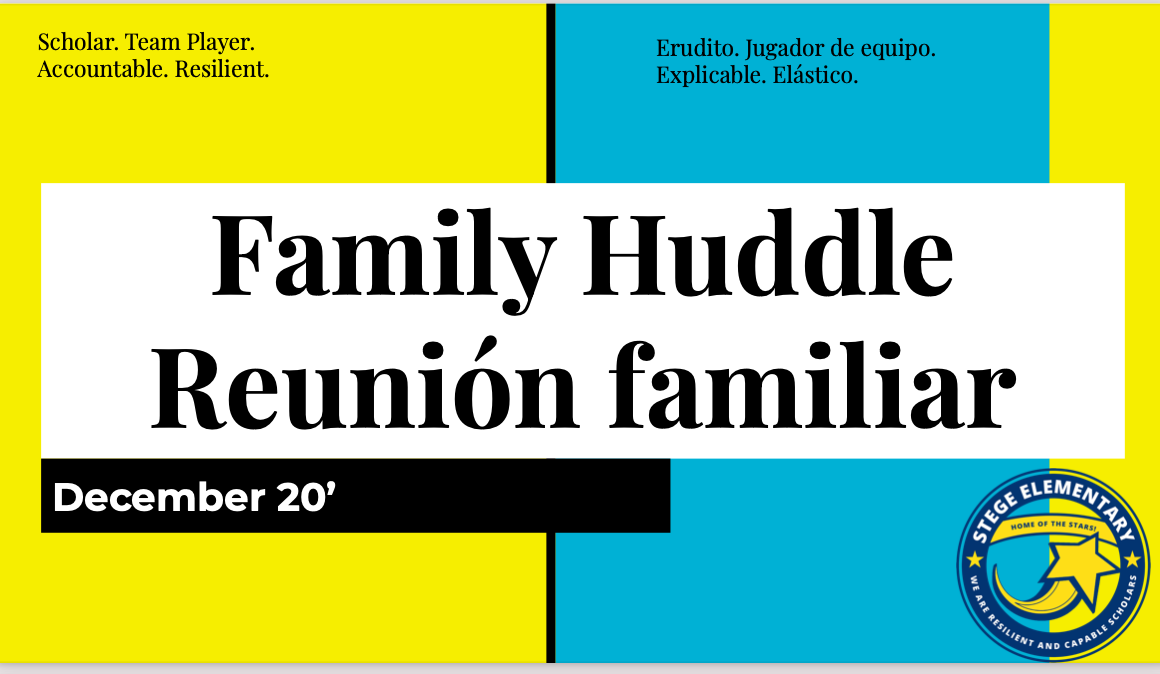 Family Huddle December