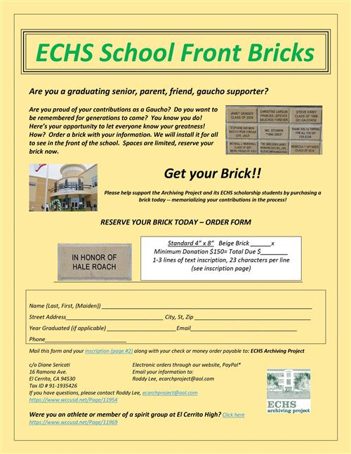 school front bricks