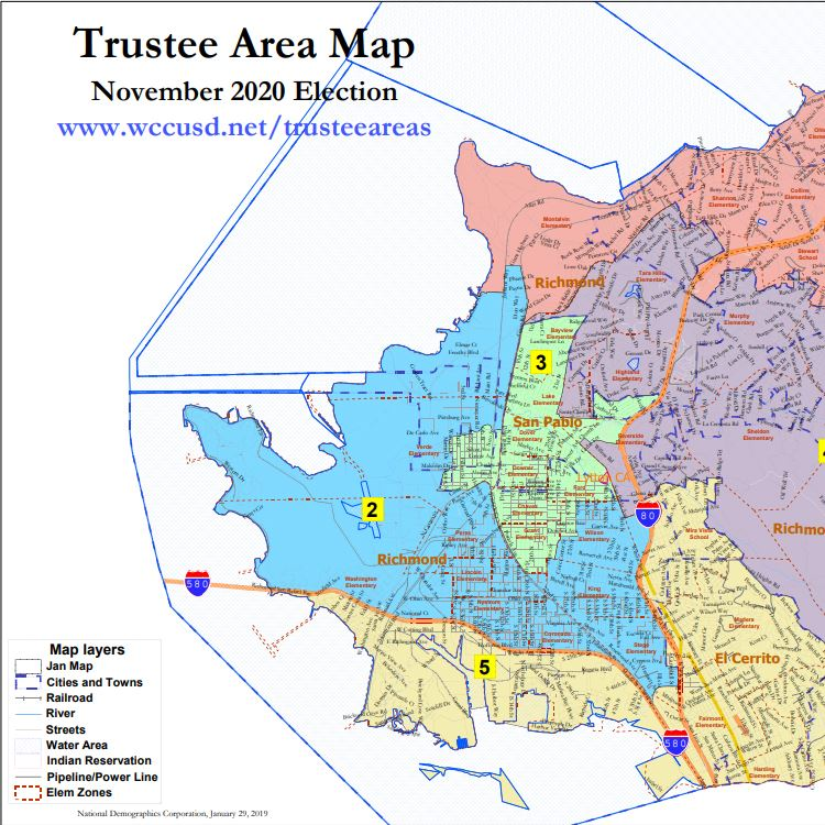 Transition to Trustee Area Elections