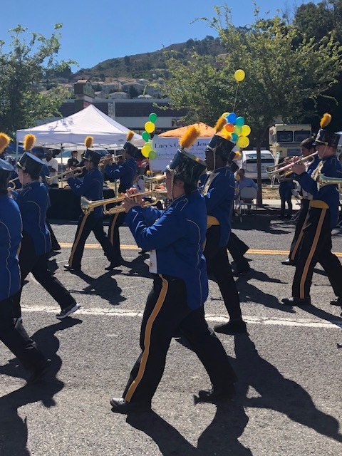 Spartan Band earns top honors at El Sobrante Stroll
