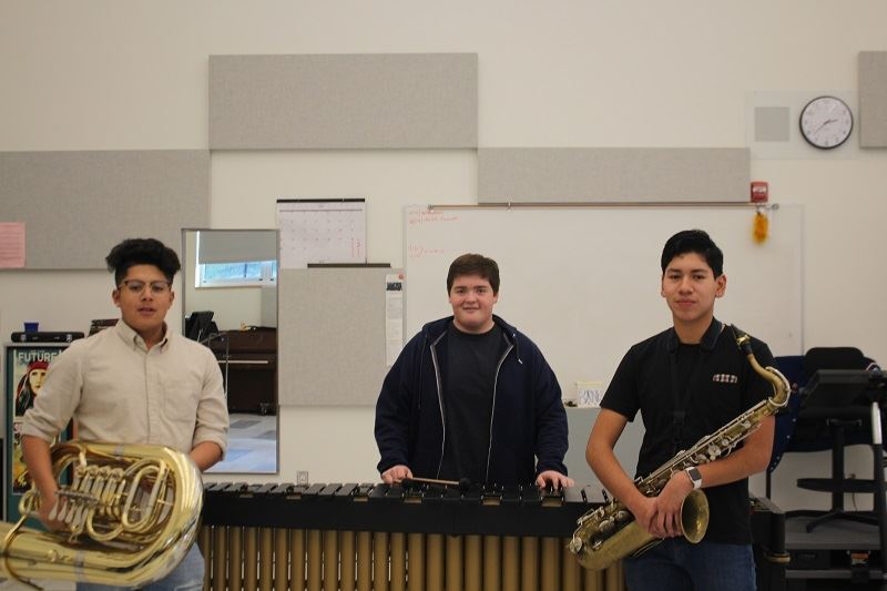 County Honor Band Trio Represents West Contra Costa