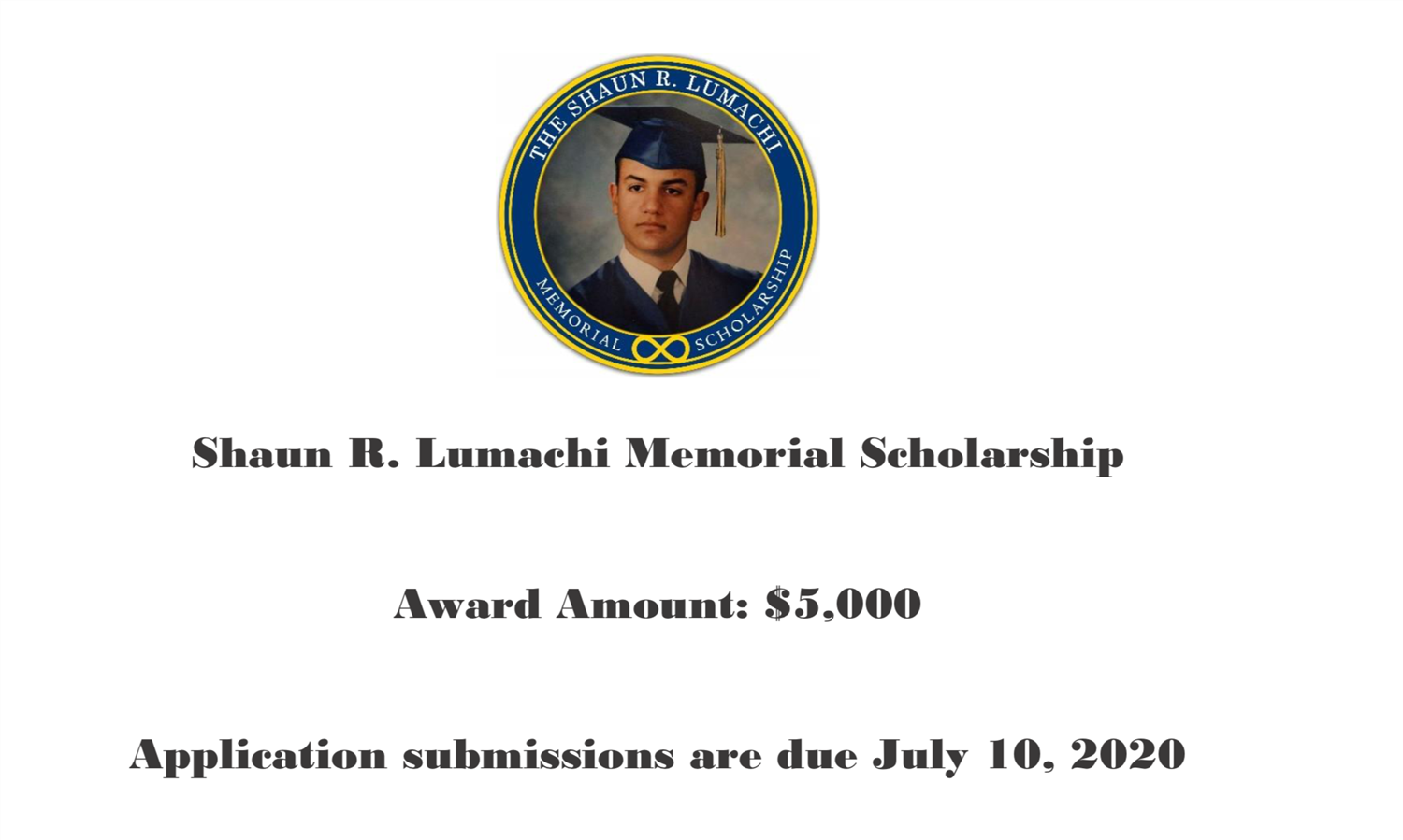 Senior Scholarship--We still have more to offer you