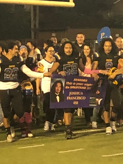 Spartans spike Cougars on Senior Night