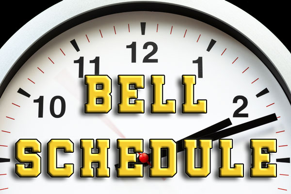 Bell Schedule for 2020-2021 (the distance learning edition)