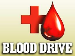Blood Drive is on for Wednesday