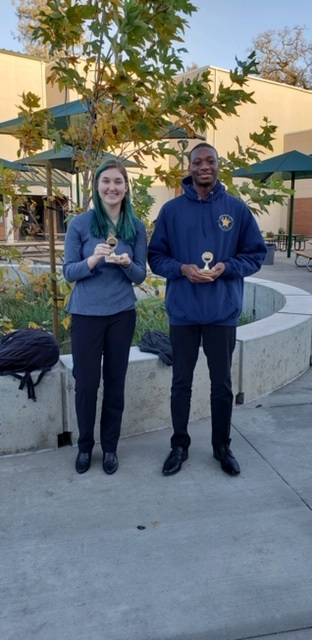 Debaters take honors in first tournament together