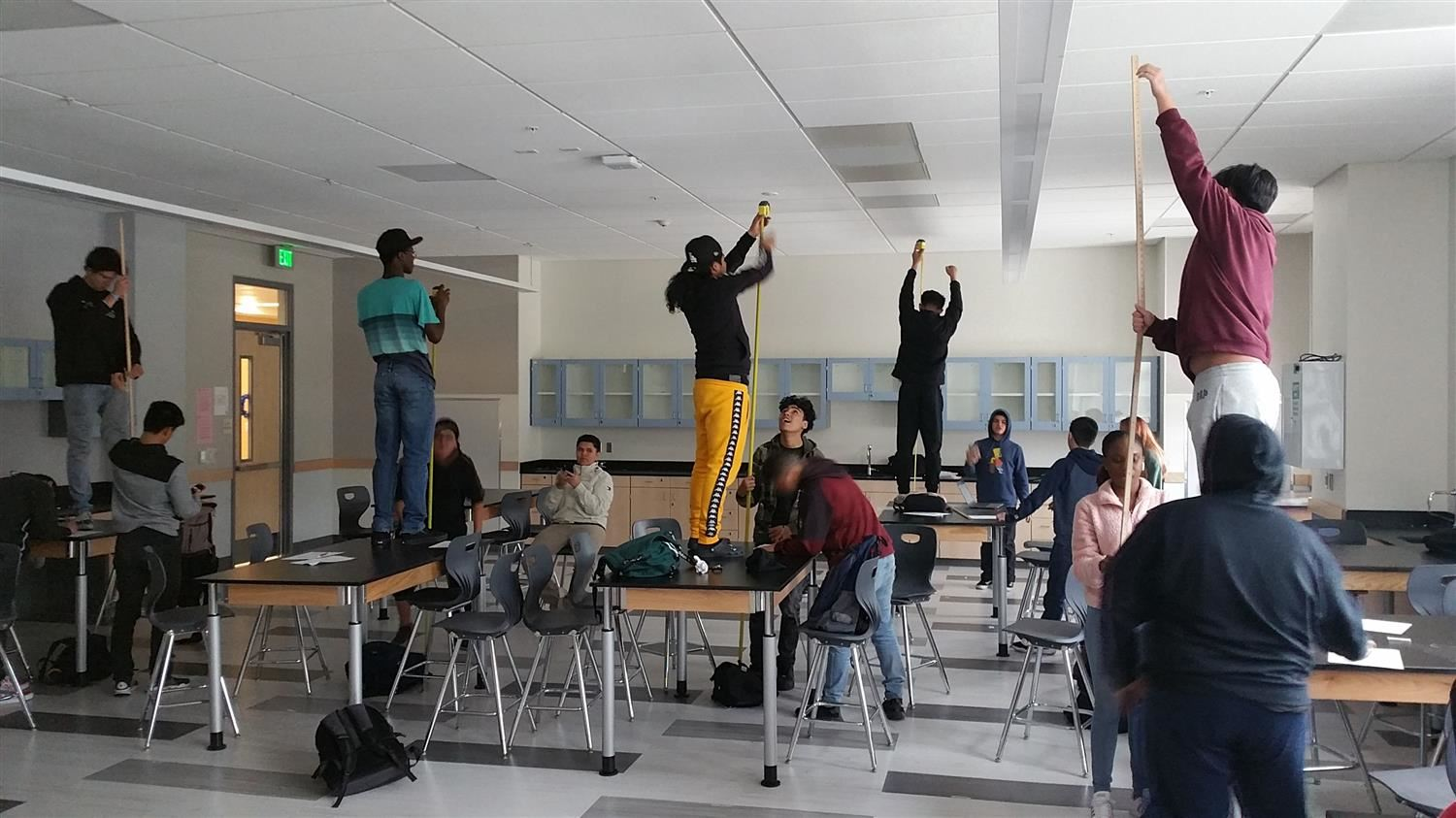 Physics Students Get the Drop on Gravity