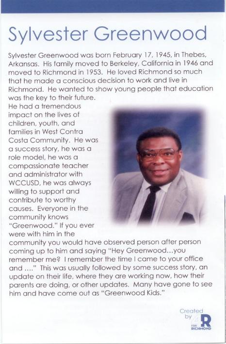 Sylvester Greenwood Bio Image