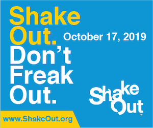 The Great Shake Out Banner
