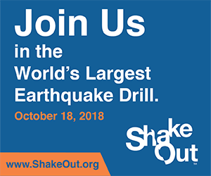 Great Shakeout banner