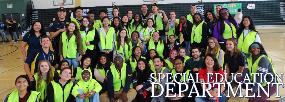 Special Education Department Header