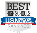 US News & World Report Best High Schools badge