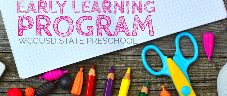 Early Learning Program Banner