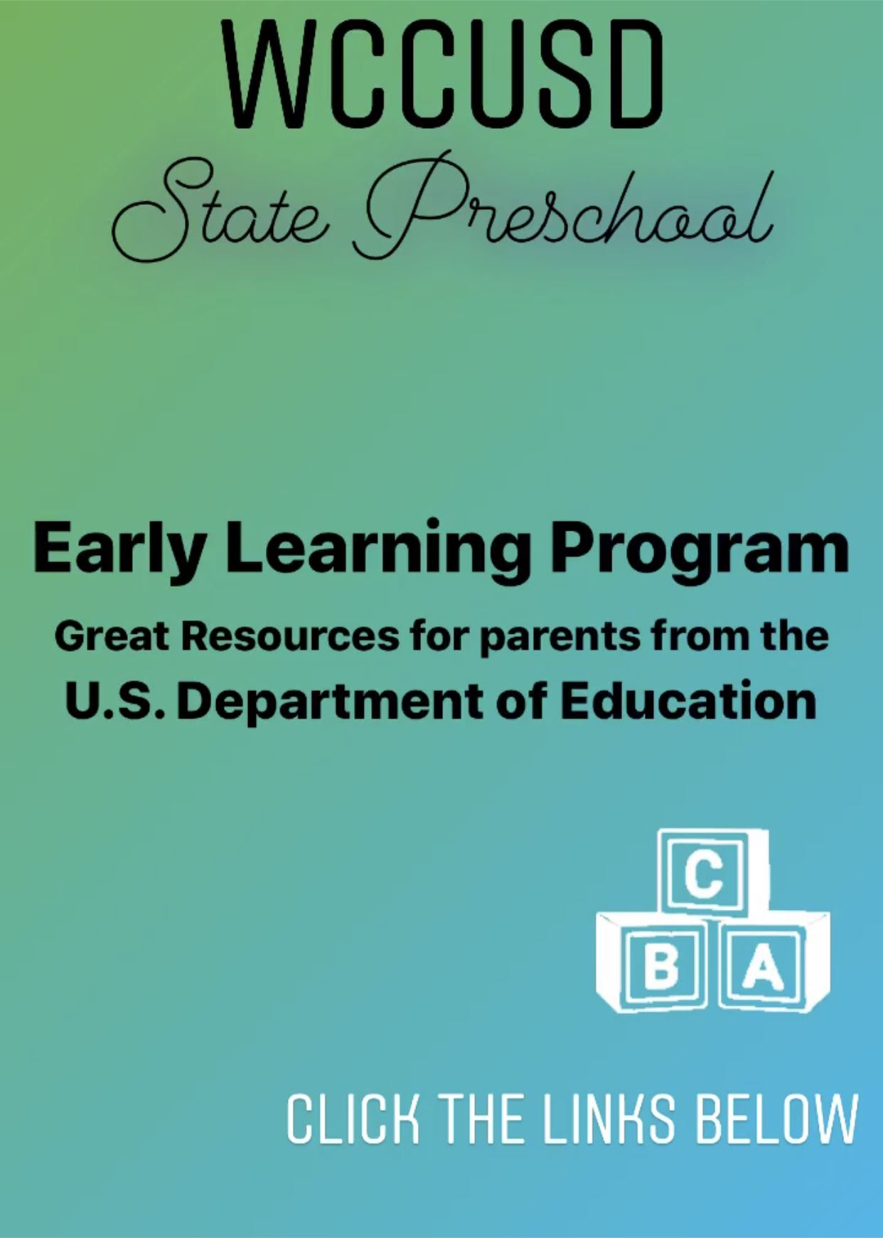 US Department of Education Resources for Parents
