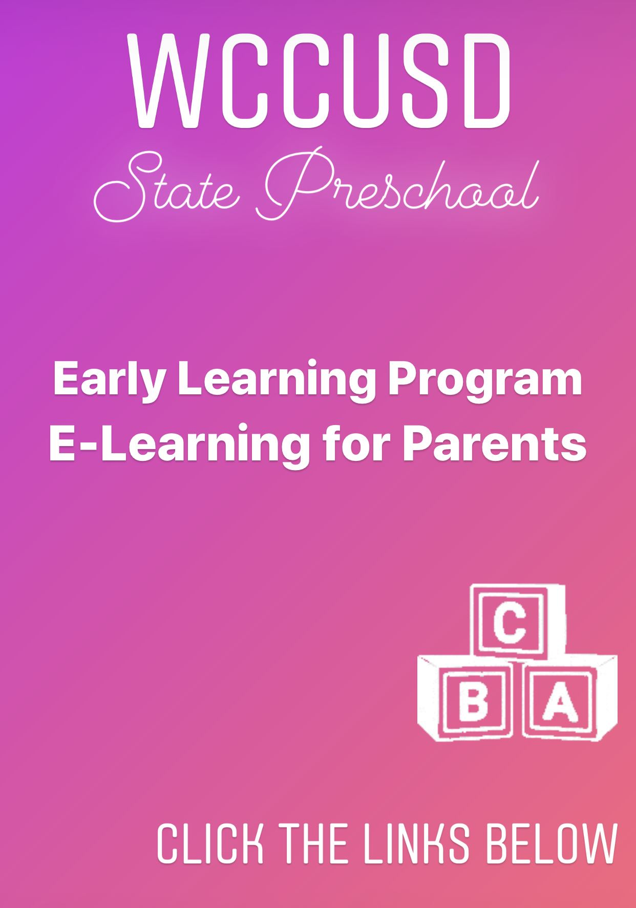 E-Learning Videos for Parents