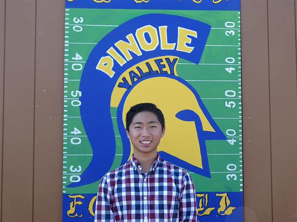 Pinole Valley High School's Christopher Tan