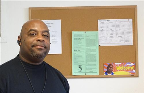Murphy's Jimmie Collier, CCOE's Classified Employee of the Year